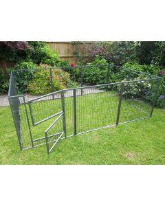 NEW 2016 Margothedog Puppy Exercise Pen Modular Dog Cage 9 panels & 1 door