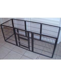NEW 2018 Margothedog Puppy Exercise Pen Modular Dog Cage 7 panels & 1 door