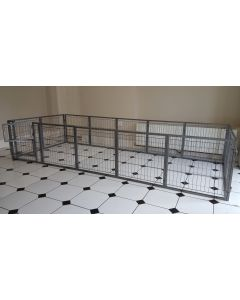 NEW 2018 Margothedog Puppy Exercise Pen Modular Dog Cage 13 panels & 1 door