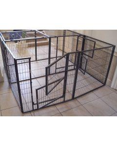 NEW 2016 Margothedog Puppy Exercise Pen Modular Dog Cage 8 panels & 1 door