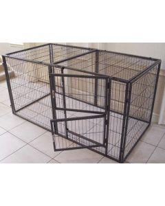 NEW 2016 Margothedog Puppy Exercise Pen Modular Dog Cage 7 panels & 1 door