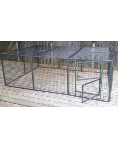 NEW 2016 Margothedog Puppy Exercise Pen Modular Dog Cage 10 panels & 1 door