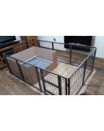 NEW 2018 Margothedog Puppy Exercise Pen Modular Dog Cage 8 panels & 1 door