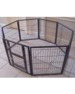 NEW 2018 Margothedog Puppy Exercise Pen Modular Dog Cage 6 panels & 1 door