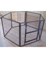 NEW 2016 Margothedog Puppy Exercise Pen Modular Dog Cage 6 panels & 1 door